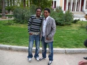 Amin en Adel in Athene