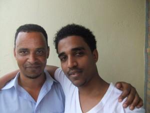 Amin en zijn vader
