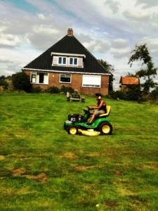 Amin maailt het gras